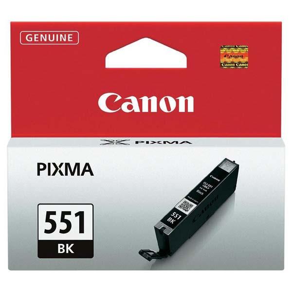 Canon originál ink CLI551BK, black, 7ml, 6508B001, Canon PIXMA iP7250, MG5450, MG6350, MG7550