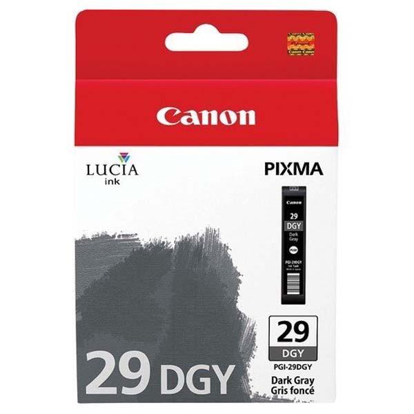 Canon PGI-29 - originálna cartridge, tmavo sivá, 36ml
