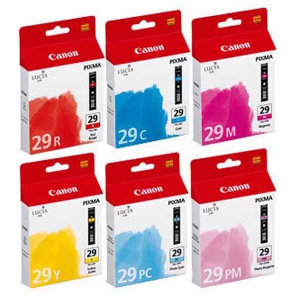 Canon PGI-29 - originálna cartridge, farebná, 6x36ml