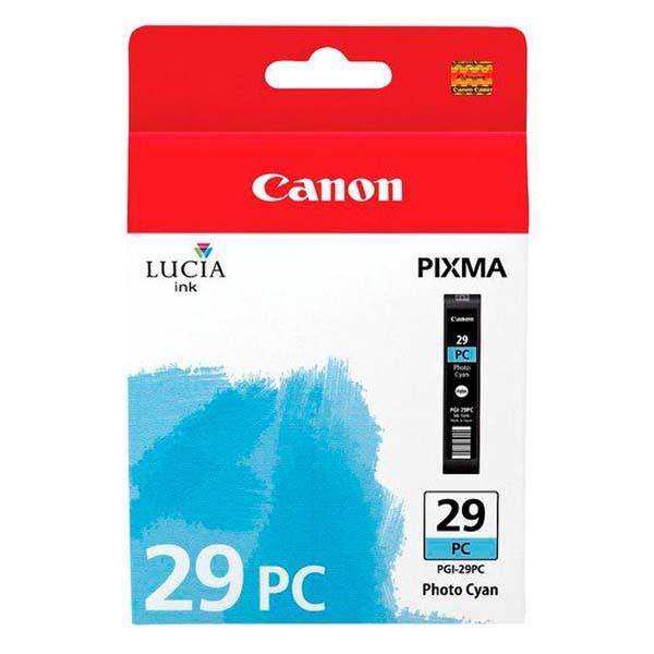 Canon PGI-29 PC - originálna cartridge, foto azúrová, 36ml
