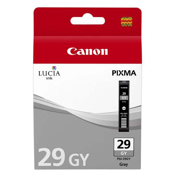 Canon PGI-29 GY - originálna cartridge, sivá, 36ml