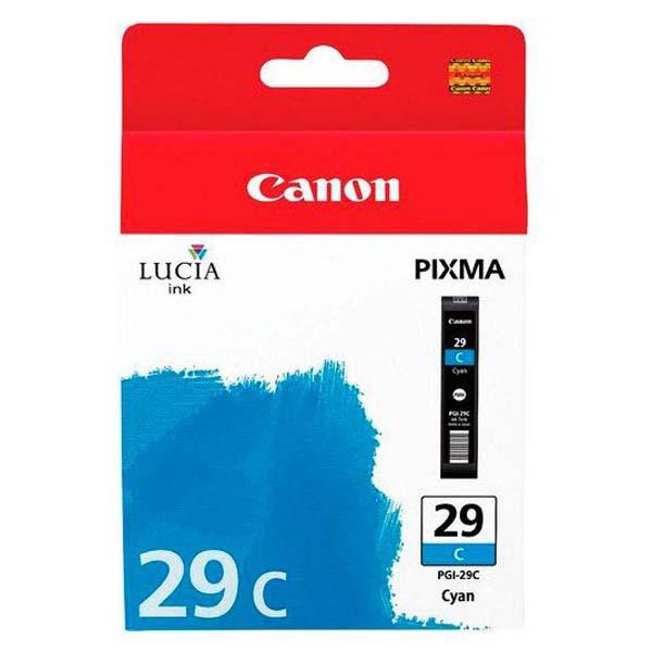 Canon PGI-29 C - originálna cartridge, azúrová, 36ml