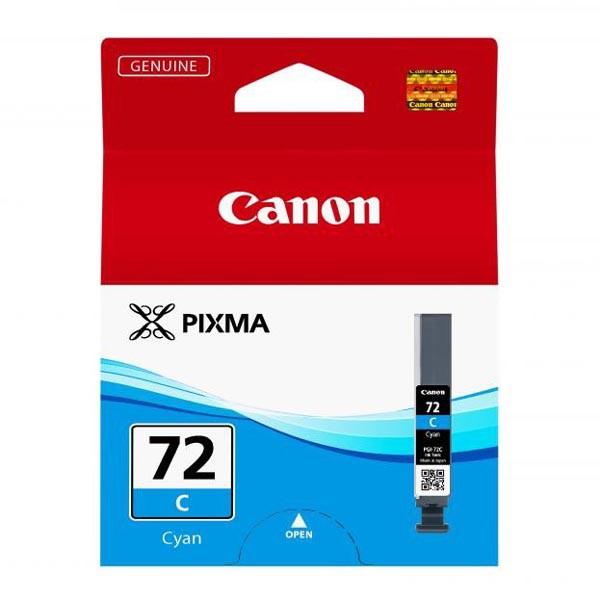Canon PGI-72 C - originálna cartridge, azúrová, 14ml