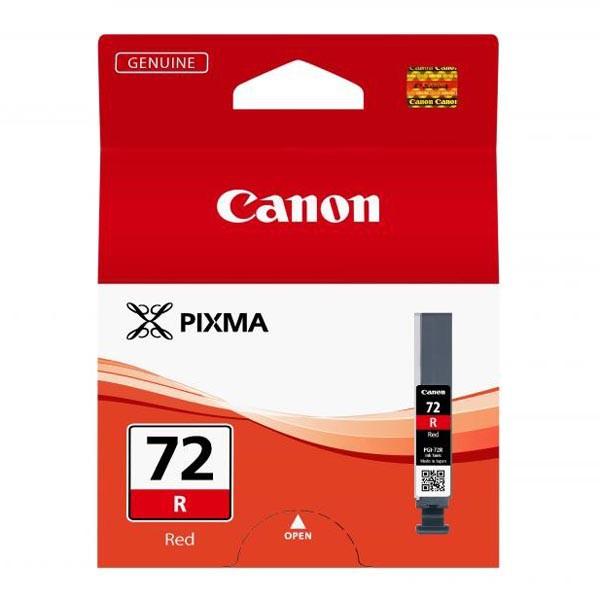 Canon PGI-72 R - originálna cartridge, červená, 14ml