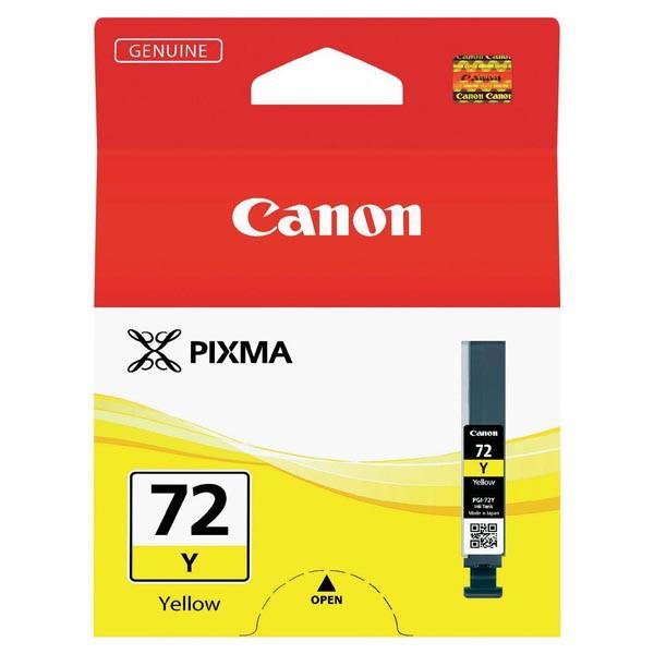 Canon originál ink PGI72Y, yellow, 14ml, 6406B001, Canon Pixma PRO-10
