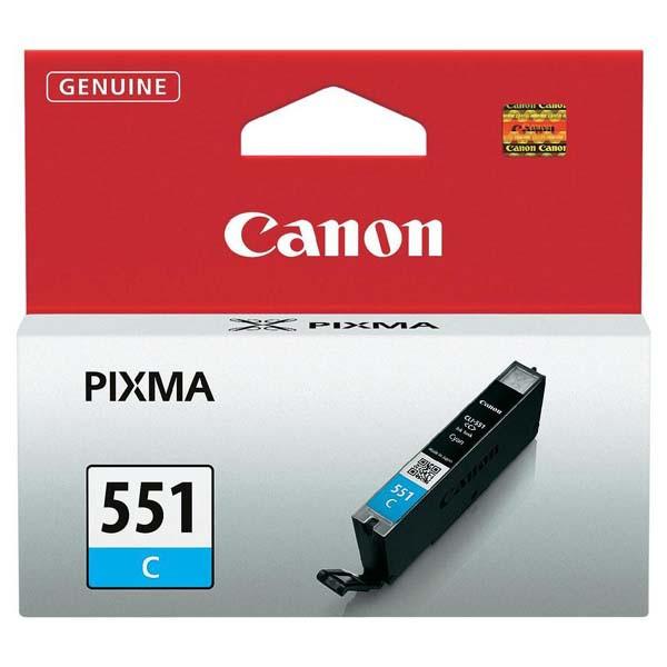 Canon originál ink CLI551C, cyan, 7ml, 6509B001, Canon PIXMA iP7250, MG5450, MG6350, MG7550