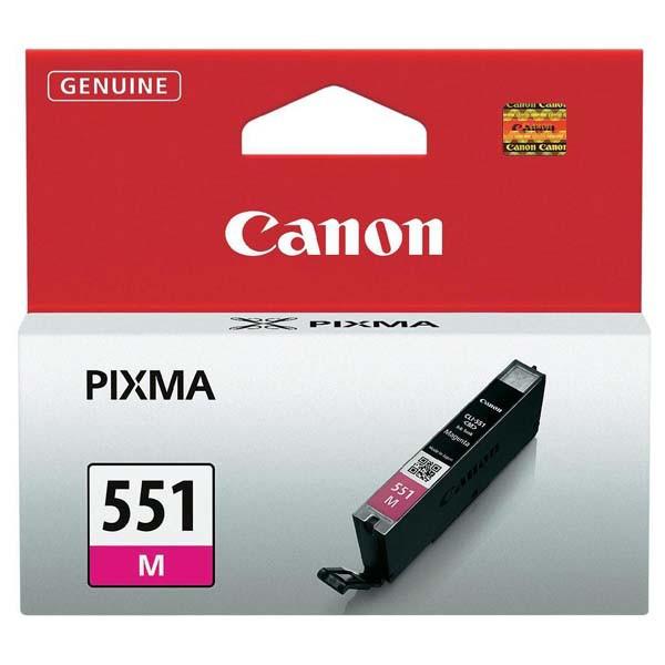 Canon originál ink CLI551M, magenta, 7ml, 6510B001, Canon PIXMA iP7250, MG5450, MG6350, MG7550