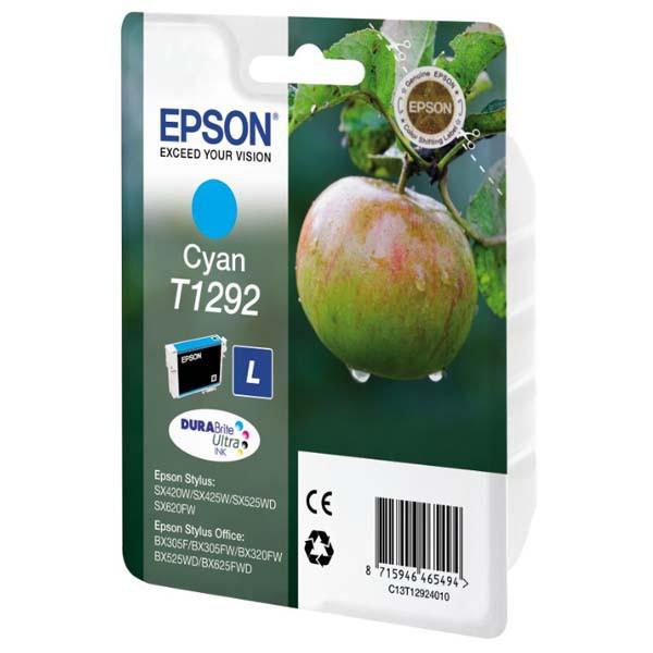 Epson T1292 (C13T12924011) - originálny, cyan, 485 strán