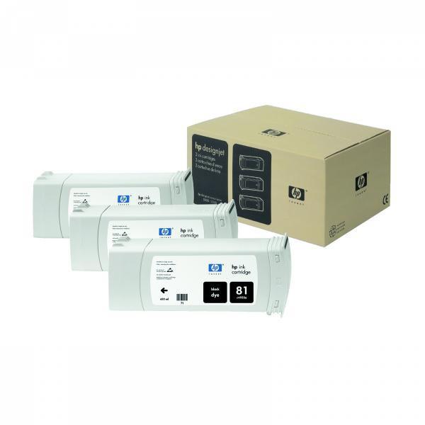 HP C4930A - originálna cartridge HP 81, čierna, 680ml