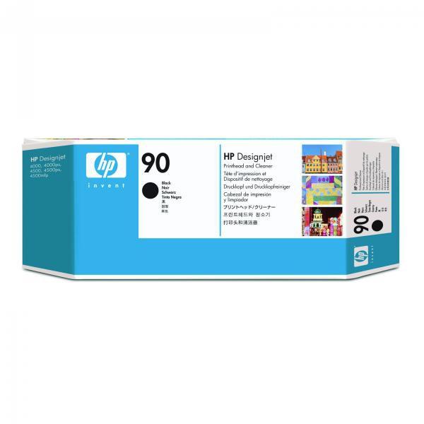 HP originál tlačová hlava C5054A, HP 90, black, HP DesignJet 4000, 4000ps, 4500