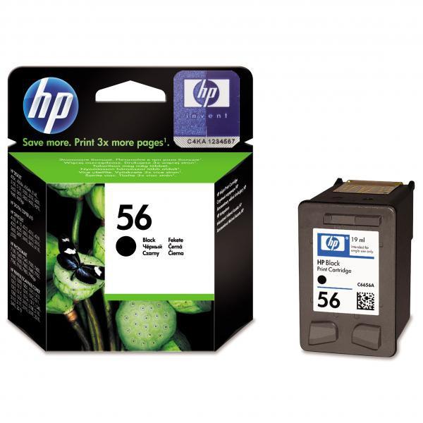 HP C6656AE - originálna cartridge HP 56, čierna, 19ml