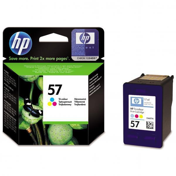 HP C6657AE - originálna cartridge HP 57, farebná, 17ml