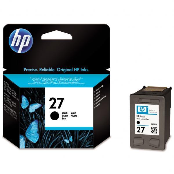HP C8727AE - originálna cartridge HP 27, čierna, 10ml