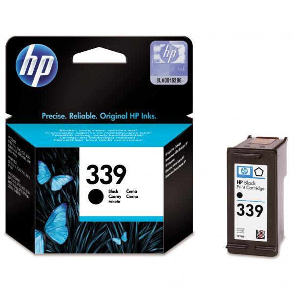 HP C8767EE - originálna cartridge HP 339, čierna, 21ml