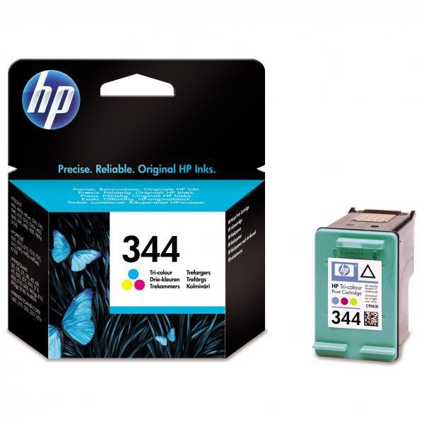 HP C9363EE - originálna cartridge HP 344, farebná, 14ml