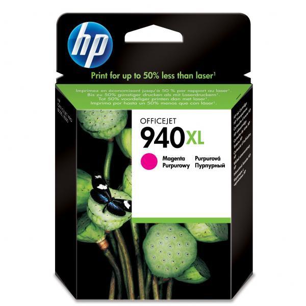 HP originál ink C4908AE, HP 940XL, magenta, blister, 1400str., 16ml, HP Officejet Pro 8000, Pro 8500
