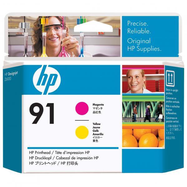HP C9461A - originálna tlačová hlava HP 91, purpurová