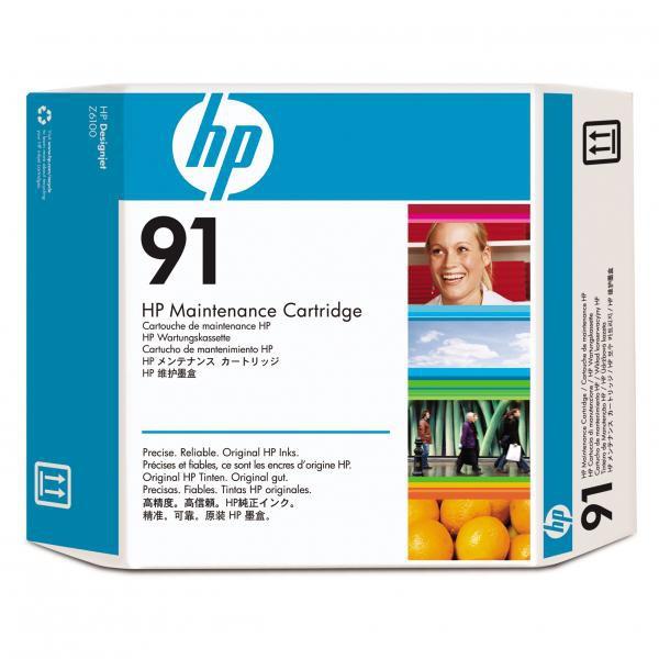 HP C9518A - originálna tlačová hlava HP 91, čierna