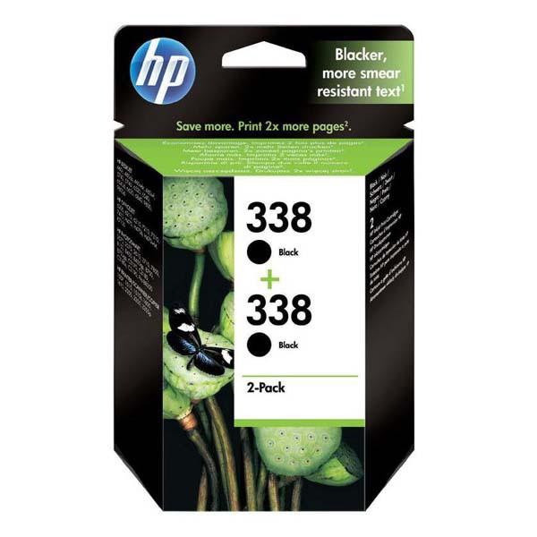 HP CB331EE - originálna cartridge HP 338, čierna, 2x450