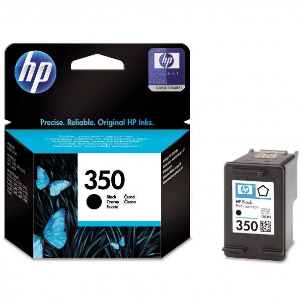 HP CB335EE - originálna cartridge HP 350, čierna, 4,5ml