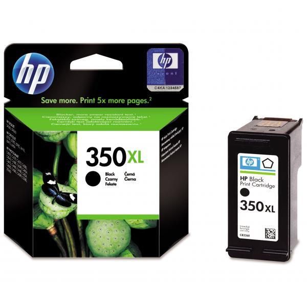 HP originál ink CB336EE, HP 350XL, black, blister, 25ml, HP Officejet J5780, J5785