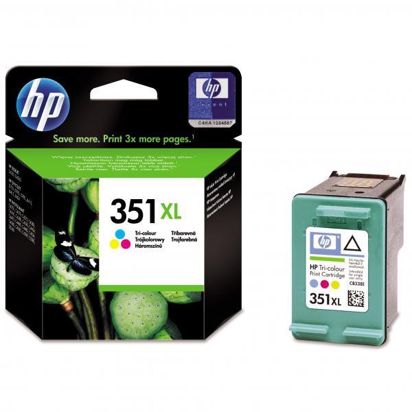 HP originál ink CB338EE, HP 351XL, color, blister, 14ml, HP Officejet J5780, J5785