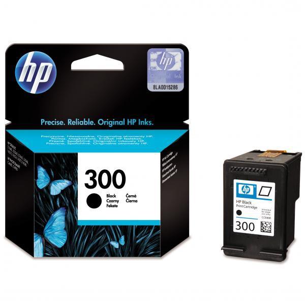 HP originál ink CC640EE, HP 300, black, 200str., 4ml, HP DeskJet D2560, F4280, F4500