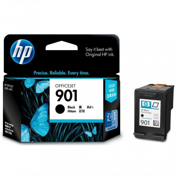 HP CC653AE - originálna cartridge HP 901, čierna, 200 strán