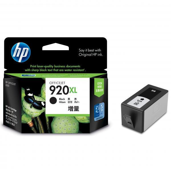 HP CD975AE - originálna cartridge HP 920-XL, čierna, 32ml