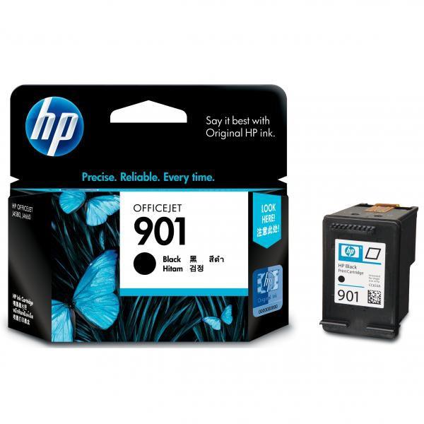 HP CC653AE - originálna cartridge HP 901, čierna, 4ml