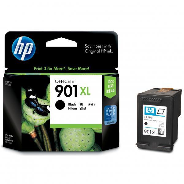 HP originál ink CC654AE, HP 901XL, black, blister, 700str., 14ml, HP OfficeJet J4580