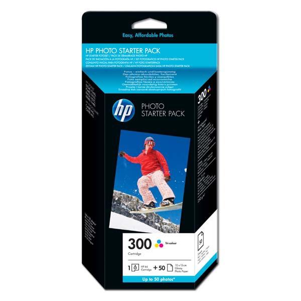 HP originál ink CG846EE, HP 300, cyan/magenta/yellow, blister, HP Deskjet D2560, F4280, F4500