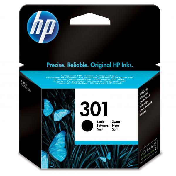 HP originál ink CH561EE, HP 301, black, 190str., HP Deskjet 1000, 1050, 2050, 3000, 3050