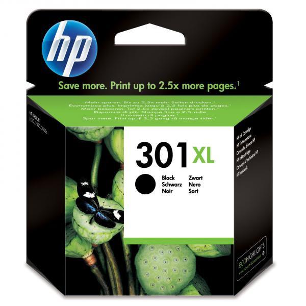 HP originál ink CH563EE, HP 301XL, black, blister, 480str., HP HP Deskjet 1000, 1050, 2050, 3000, 3050