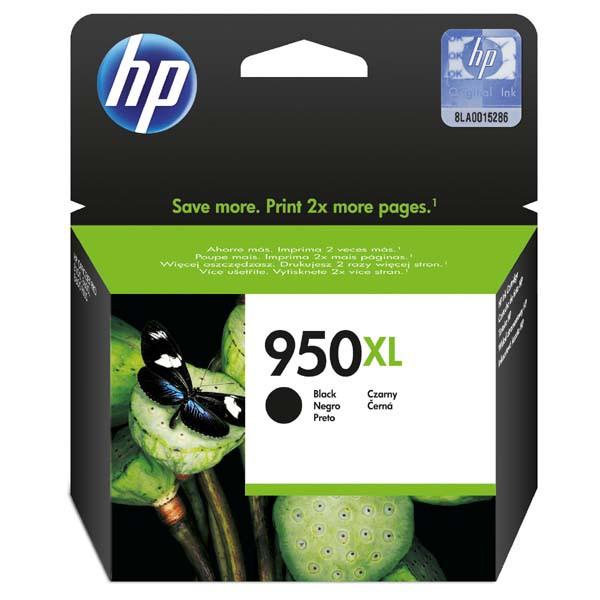 HP CN045AE - originálna cartridge HP 950-XL, čierna, 53ml
