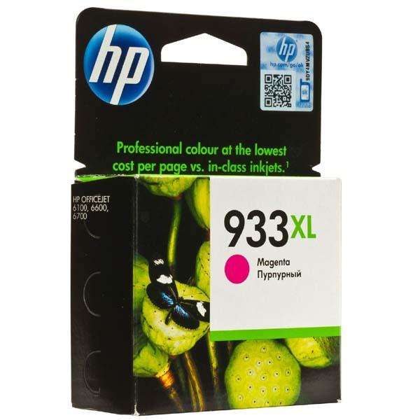 HP originál ink CN055AE, HP 933XL, magenta, 825str., HP Officejet 6100, 6600, 6700, 7110, 7610, 7510