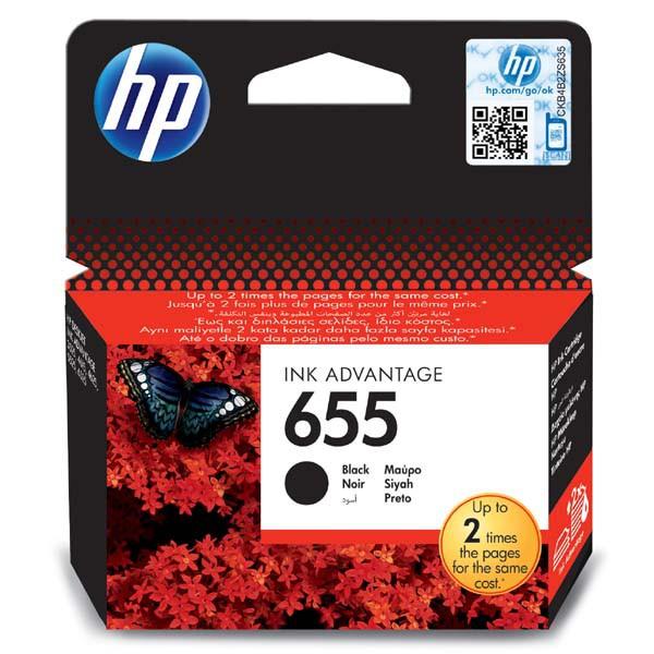 HP originál ink CZ109AE, HP 655, black, 550str., HP Deskjet Ink Advantage 3525, 5525, 6525, 4615 e-AiO