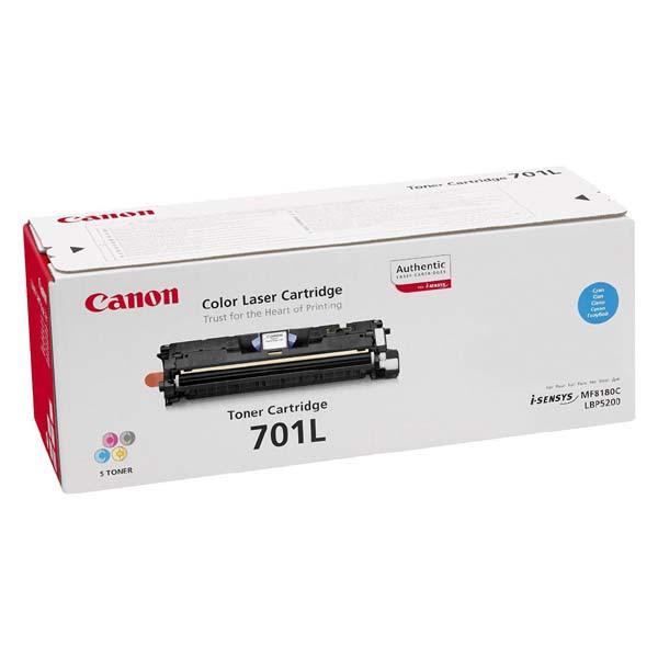 Canon EP-701 C - originálny toner, azúrový, 2000 strán