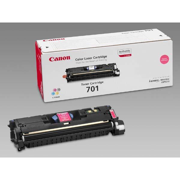 Canon EP-701 M - originálny toner, purpurový, 2000 strán