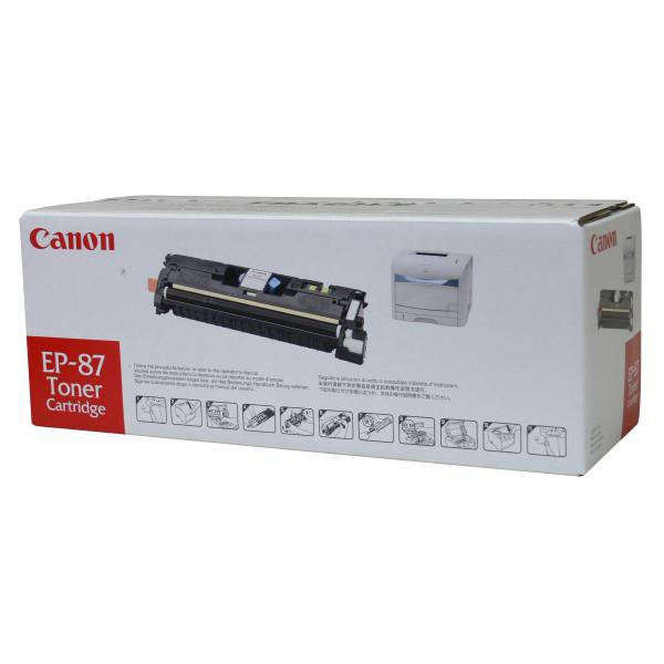 Canon EP-87 C - originálny toner, azúrový, 4000 strán