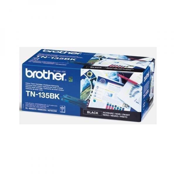 BROTHER TN-135 - originálny toner, čierny, 5000 strán