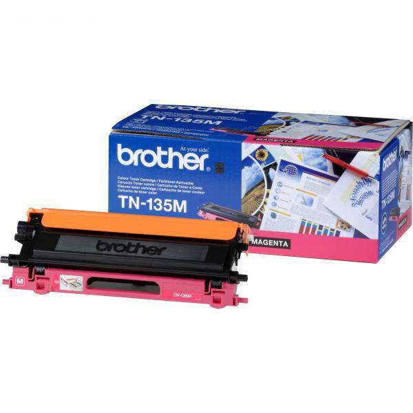 BROTHER TN-135 - originálny toner, purpurový, 4000 strán