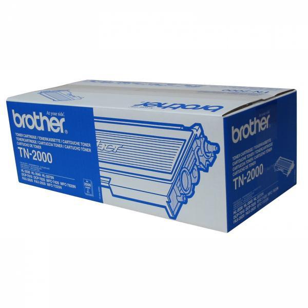 BROTHER TN-2000 - originálny toner, čierny, 2500 strán