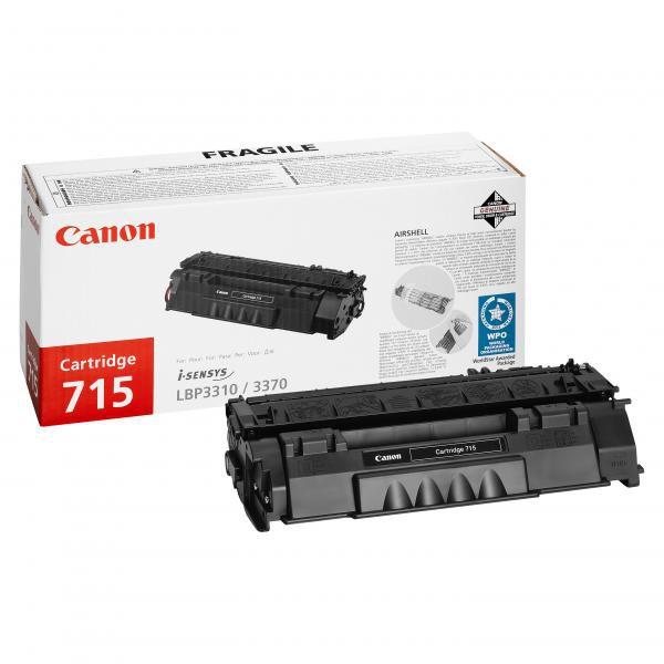Canon CRG-715 BK - originálny toner, čierny, 3000 strán
