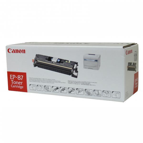 Canon originál toner EP87, yellow, 4000str., 7430A003, Canon LBP-2410