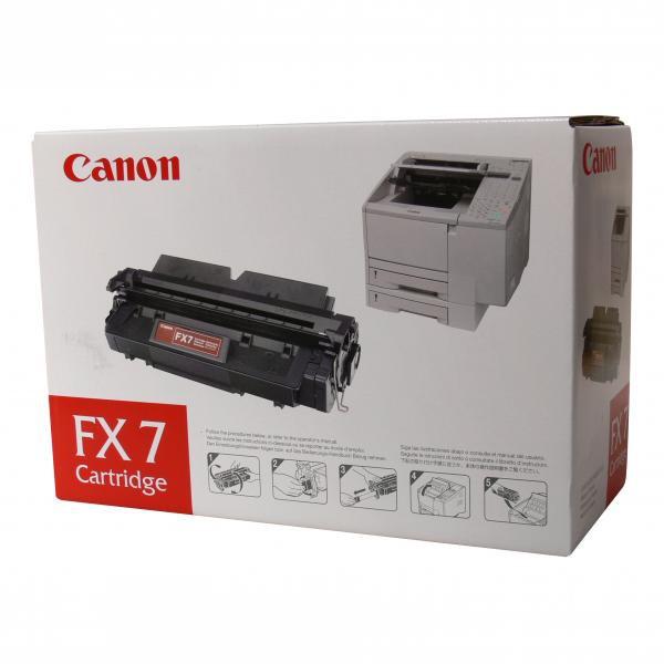 Canon FX-7 BK - originálny toner, čierny, 4500 strán