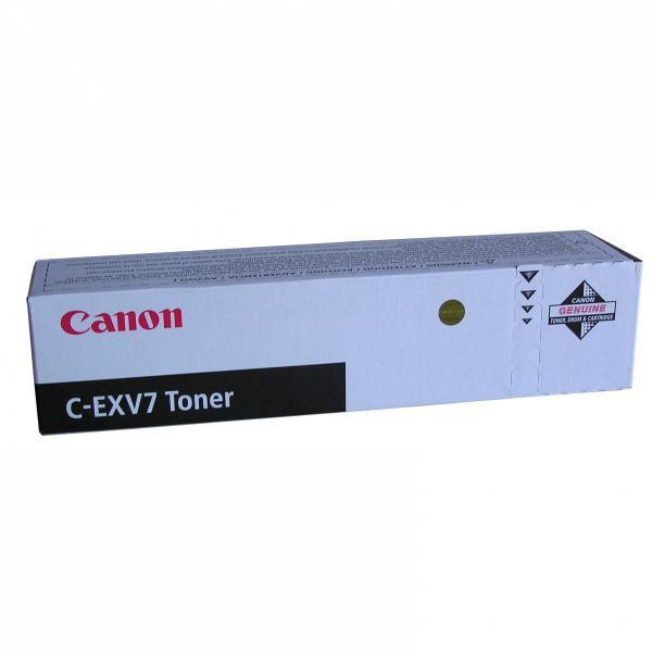 Canon C-EXV7 BK - originálny toner, čierny, 5300 strán