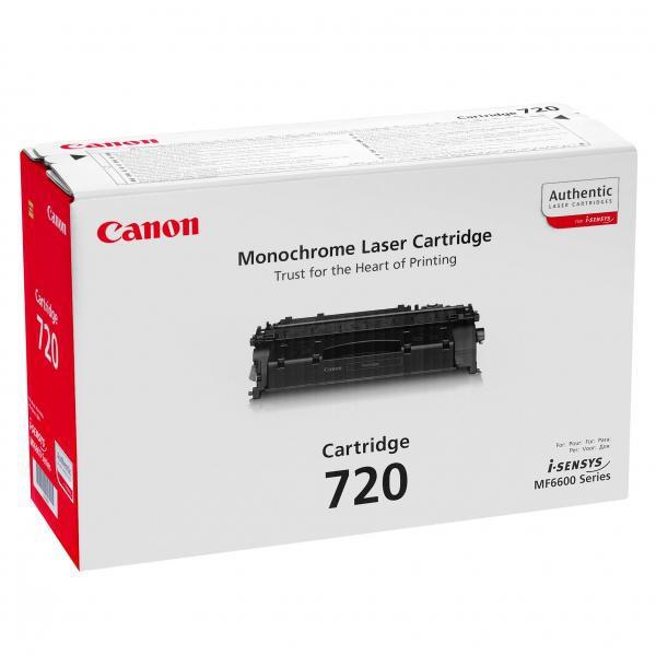 Canon CRG-720 BK - originálny toner, čierny, 5000 strán