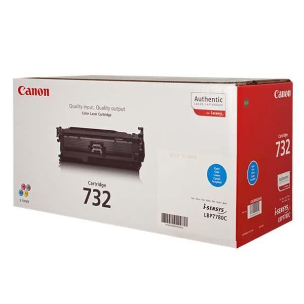 Canon CRG-732 C - originálny toner, azúrový, 6400 strán