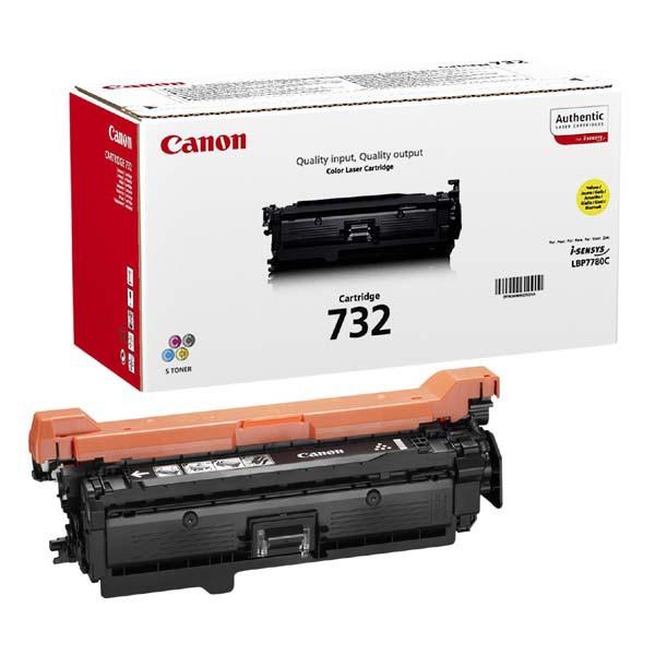 Canon originál toner CRG732, yellow, 6400str., 6260B002, Canon i-SENSYS LBP7780Cx